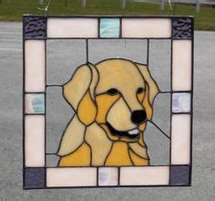 golden retriever stained glass pattern 1000 images about dogs cat horses glass on stained glass stained glass