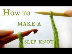 how to make a slipknot for knitting crafty ideas on gimp bracelets how to knit