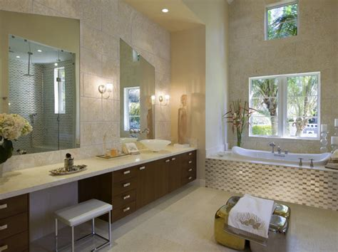 beige bathrooms glam room modern bathrooms lonny