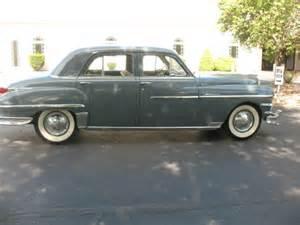 1949 Chrysler For Sale 1949 Chrysler Original No Reserve For