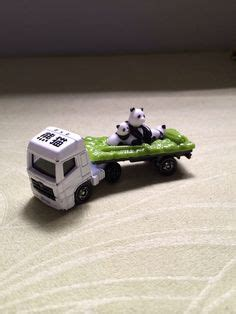 Tomica Baby Panda my tomica collection on hummer h2 trailers