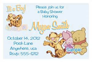 ls1 winnie the pooh friends baby shower invitations