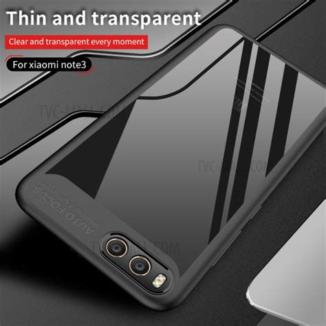 Hybrid Tpu Acrylic Transparent Back Cover Xiaomi 4 Mi4 ipaky hybrid tpu frame clear acrylic protective for xiaomi mi note 3 black tvc mall