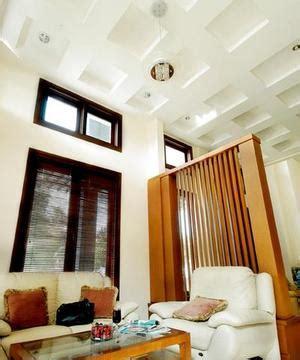 desain rumah dengan plafon tinggi baja ringan galvalum plafon partisi kesesuain