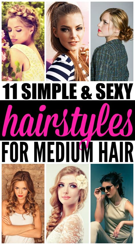 cute hairstyles to look good for your crush hairstyles for medium length hair 11 looks we love