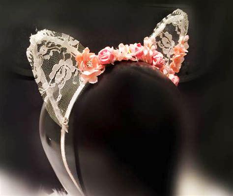 Handmade Flower Headbands - handmade lace flower headband from mola mola on storenvy