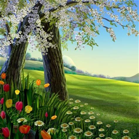 imagenes de paisajes uñas screensaver весняний сад анімація на робочий стіл