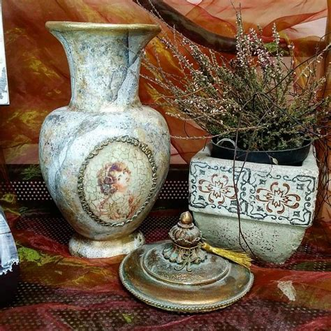How To Decoupage A Vase - 17 best images about decoupage vases on