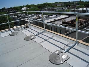 roof handrail keeguard roof fall protection railing rooftop guardrail