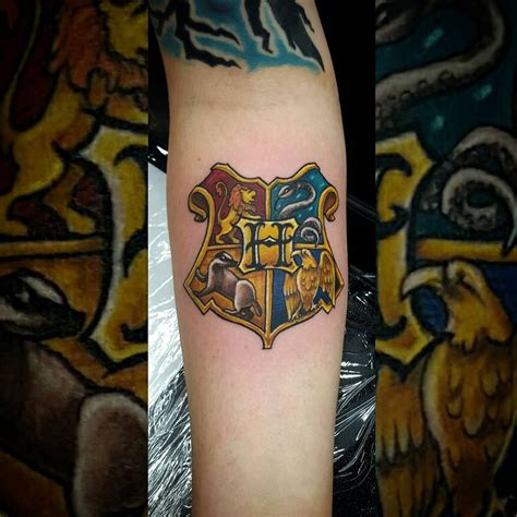 hogwarts houses tattoo venice tattoo art designs