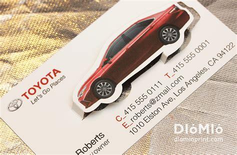 toyota business card template creative automotive business cards choice image card