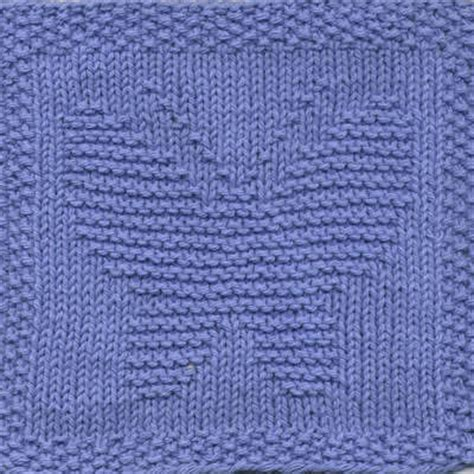 knitting pattern for butterfly heat wave dishcloths for summer