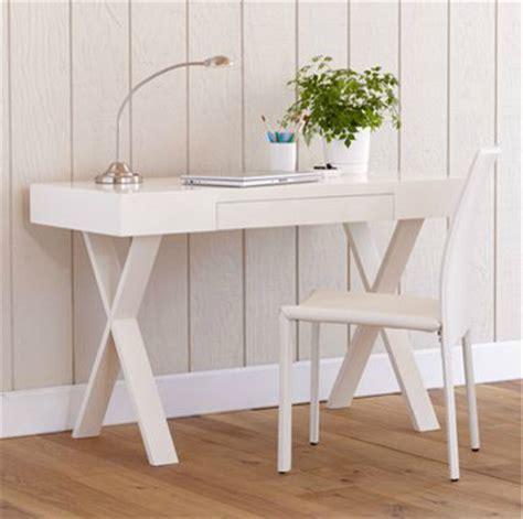 simple white desk josephine desk modern desks and hutches by cost plus