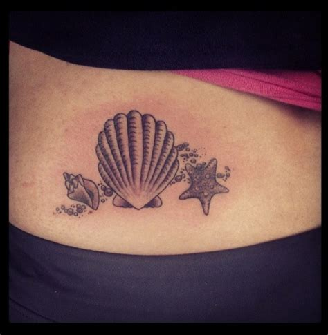 seashell tattoos 10 beautiful seashell designs