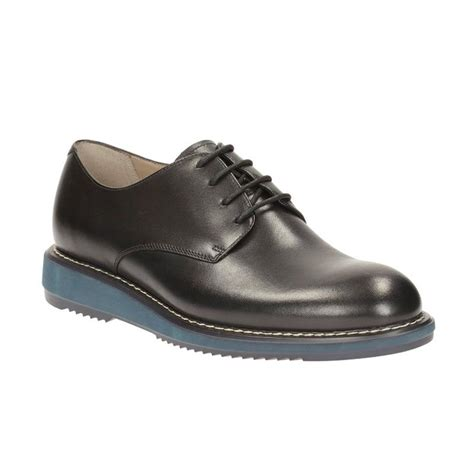 Sepatu Pria Merk Clark jual clarks kenley walk black lea sepatu pria
