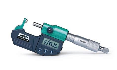 Insize Micrometer 0 25 insize 3560 micrometer electronic digital measuring bearings 0 1 quot 3560 measuring tools