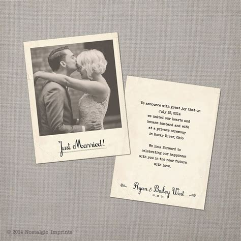 Wedding Announcement Vintage by Vintage Wedding Announcement Cards The By