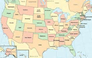 best photos of labeled map of 50 states us map with