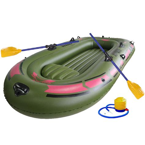 inflatable boat for river fishing ipree 150x90cm 1person pvc rubber boat for river stream