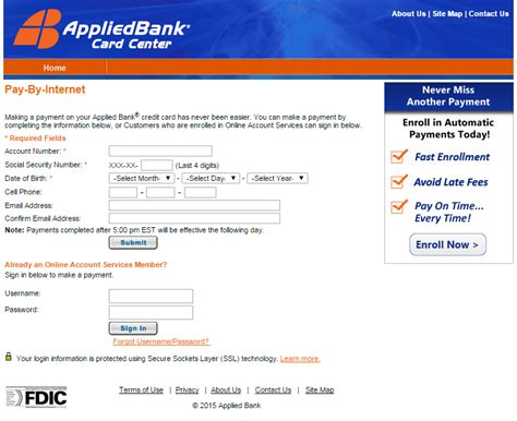 where can i make a discover card payment payments applied bank