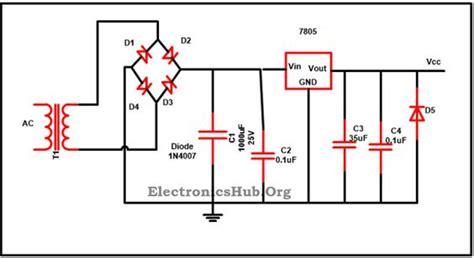 Ic Power L7915cv Ic Regulator 7805 ic voltage regulator circuit working and applications circuit diagram and voltage regulator