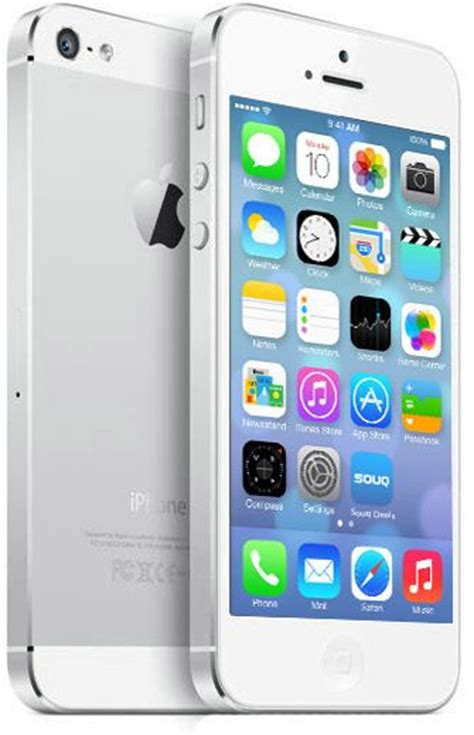 Iphone 5 16gb Silverr apple iphone 5 16gb 4g lte wifi white silver price review and buy in uae dubai abu