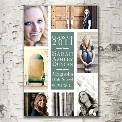 Custom Digital Graduation Announcement By Stewartdesignstudios 18 00 Photography Graduation Digital Graduation Announcements Templates
