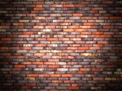 wall image 14972749 colorful brick wall background with black