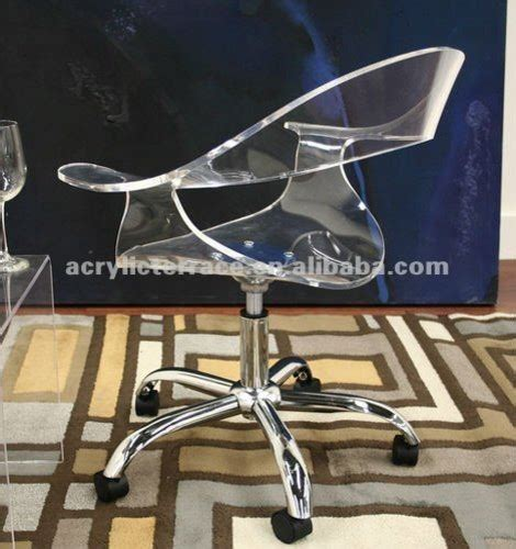 acrylic office chairs uk acrylic lucite swivel office chair contemporary office