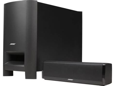 bose cinemate 15 home theater speaker system black newegg