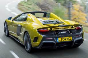 all 500 units of the mclaren 675 lt spider have been sold just two