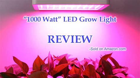best 1000 watt led grow light quot 1000 watt quot led grow light by colofocus review youtube