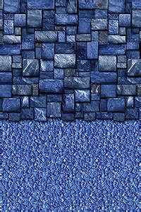 24 ft beaded pool liner for 52 in wall blue slate 24 ft beaded liner 52 inch