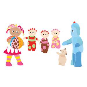 stickerscape the night garden friends wall sticker set regular decofun stickers foam amazon