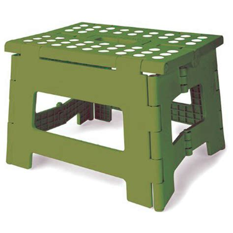 kikkerland step stool kikkerland easyfold green step stool 8 5 inches in step