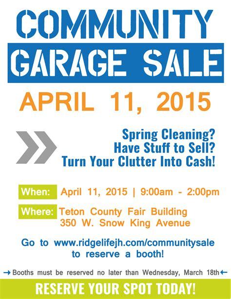 printable garage sale sign