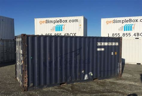 20 x 20 storage container 20 foot shipping container to rent or buy simple box storage