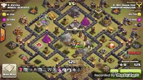 earthquake coc how to use earthquake spell in coc manipur nongsha youtube