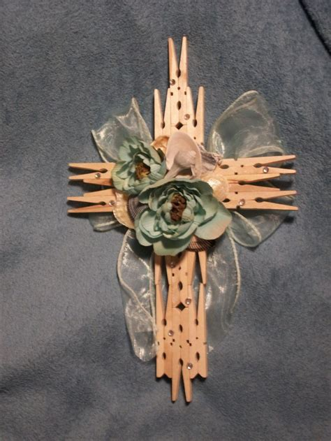 Handmade Crosses - 1000 images about clothespin crosses on