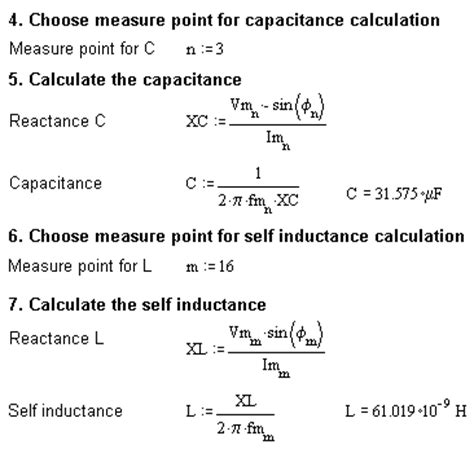 inductor self capacitance calculator measuring parasitic properties electronic measurements