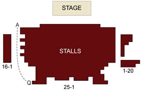 seating plan leicester square theatre leicester square theatre seating chart and stage
