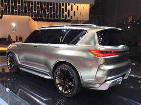 new york car shows infiniti qx80 monograph at the 2017 new york auto show