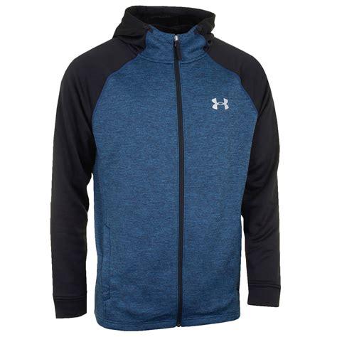 Jaket Hoodie Zippersweater Switer Armour Black armour 2017 mens tech terry fitted zip hoodie hooded jacket ebay
