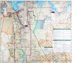 trail map of lake mead national recreation area arizona