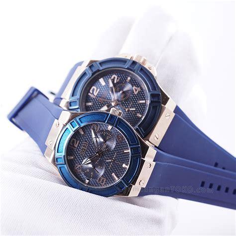 Jam Tangan Guess B891 2 guess blue kw grade aaa di tangan 2 toko