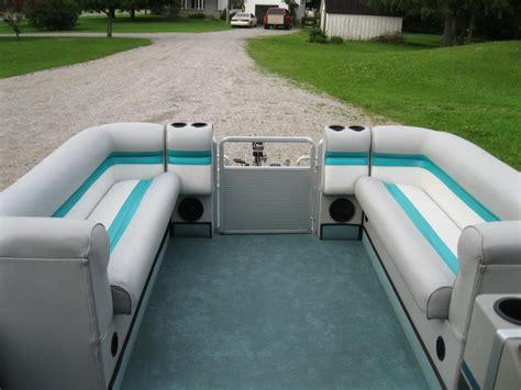 used pontoon boats okanagan 1991 harris flote boat 24 pontoon boat w 40 hp evinrude