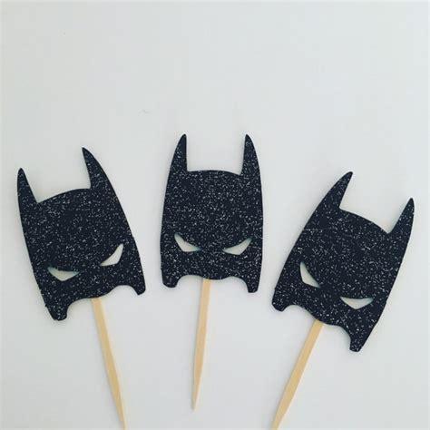 Topper Batman I modern day batman cupcake toppers batman birthday