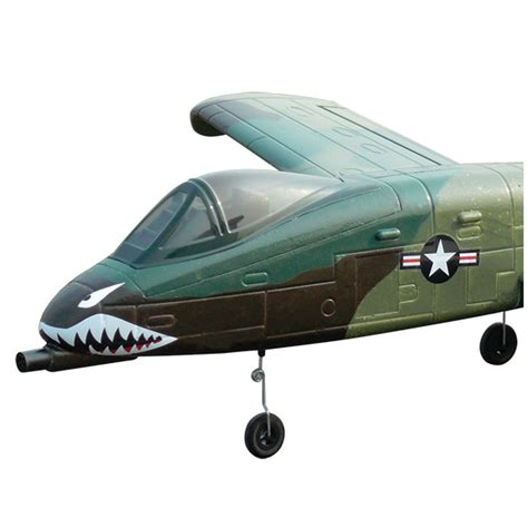 Promo Dynam A 10 Thunderbolt Ii With Retracts 2 4g Dy8933 dynam 8933vii a 10 thunderbolt rc plane at hobby warehouse