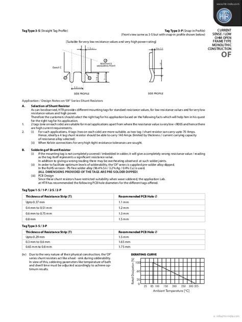 htr shunt resistor htr india products current sense resistors current sense open f