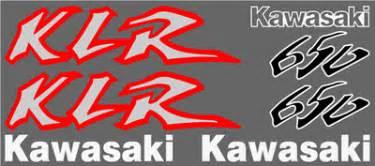 Kawasaki Klr Aufkleber by Graphics And Stickers Decals For Kawasaki Klr Series
